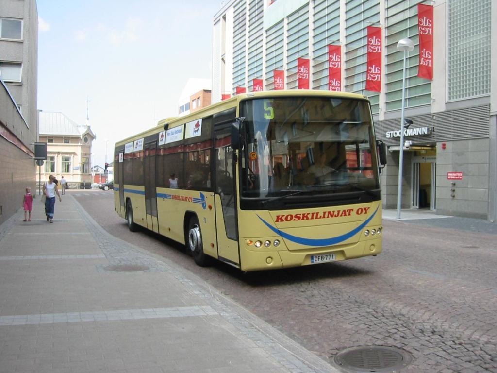 Oulu syöte bussi